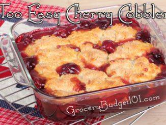 too easy cherry cobbler attachment