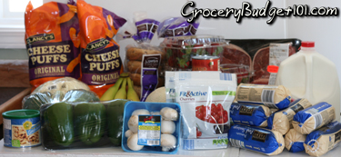 Week #10 $50 Weekly Grocery Menu